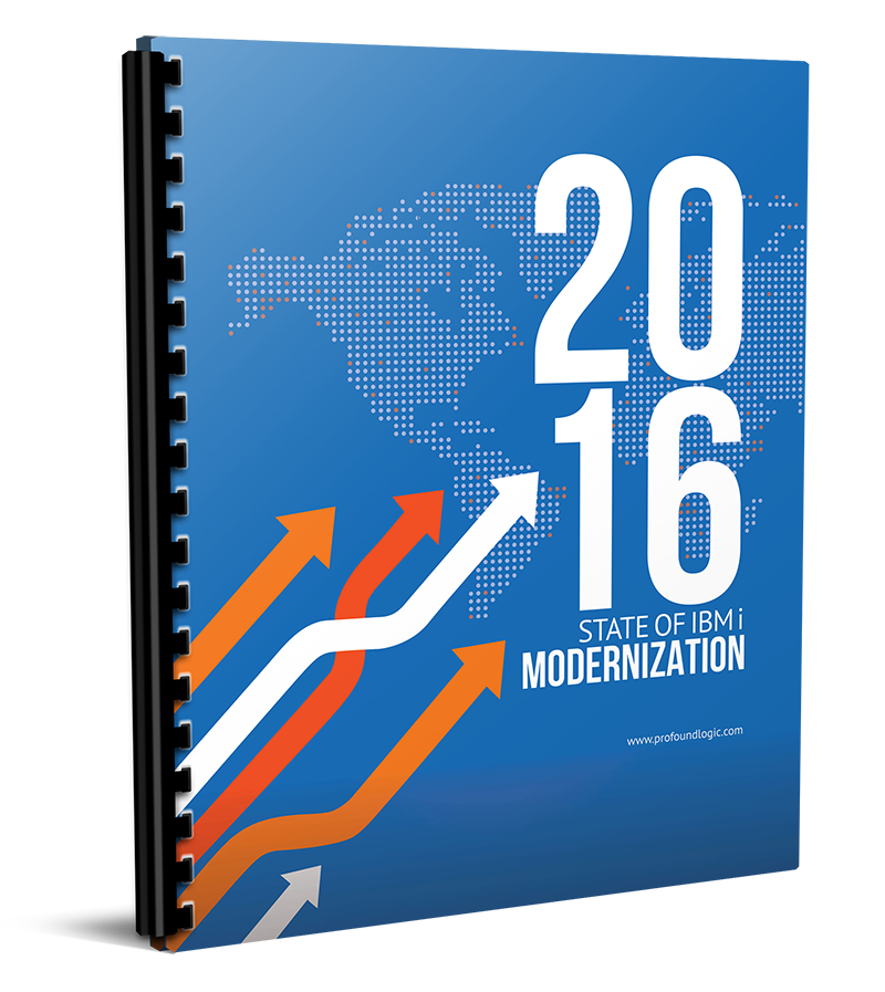2016 State of IBM i Modernization